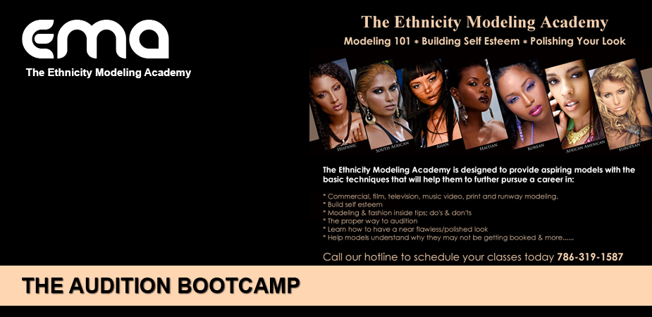 Ethnicity Models Audtion Bootcamp