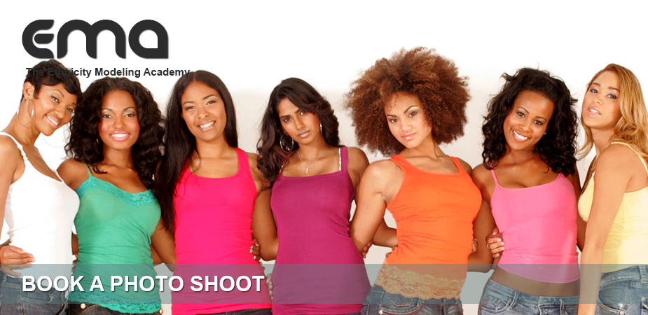 Ethnicity Models Book Photo shoot
